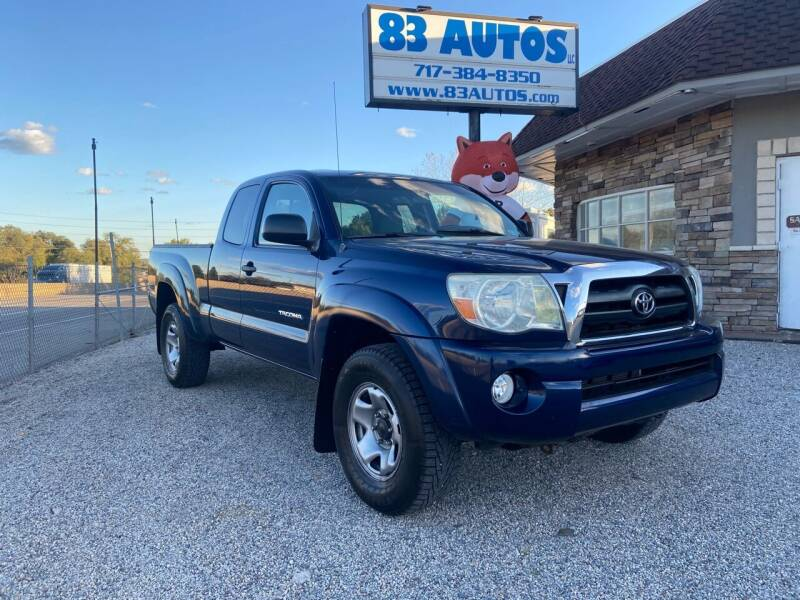 2007 Toyota Tacoma for sale at 83 Autos in York PA