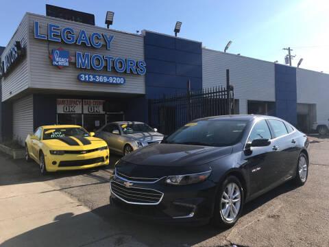 2018 Chevrolet Malibu for sale at Legacy Motors in Detroit MI