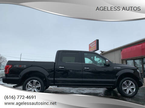 2016 Ford F-150 for sale at Ageless Autos in Zeeland MI