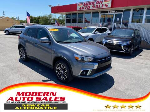 2019 Mitsubishi Outlander Sport for sale at Modern Auto Sales in Hollywood FL