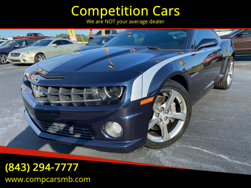 2013 Chevrolet Camaro for sale at Competition Cars in Myrtle Beach SC