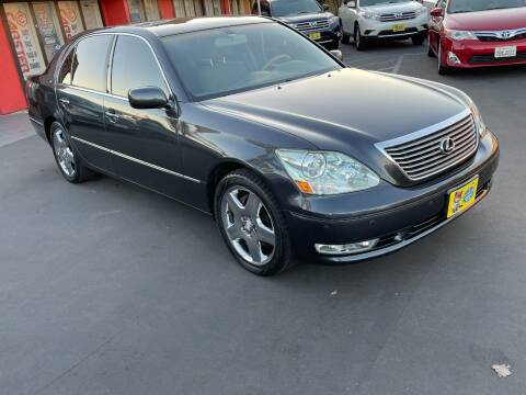 2005 Lexus LS 430 for sale at CARSTER in Huntington Beach CA