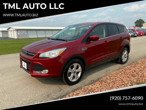 2015 Ford Escape for sale at TML AUTO LLC in Appleton WI
