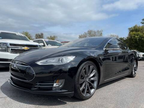 2013 Tesla Model S for sale at Upfront Automotive Group in Debary FL
