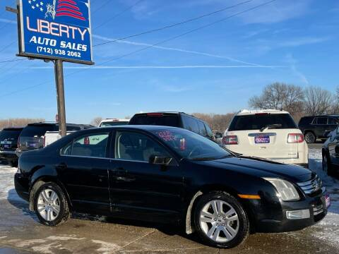 2006 Ford Fusion for sale at Liberty Auto Sales in Merrill IA