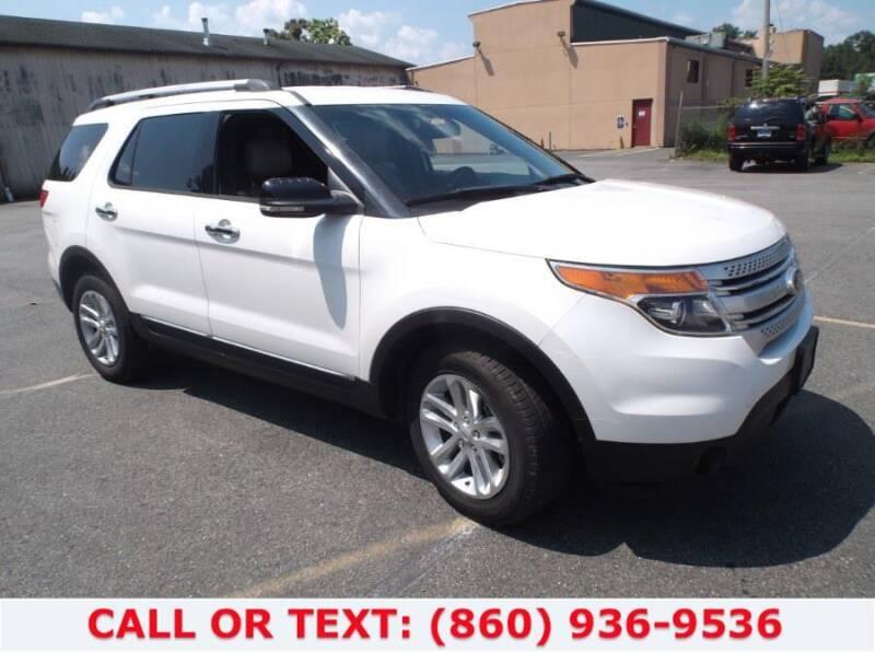 2013 Ford Explorer for sale at Lee Motor Sales Inc. in Hartford CT