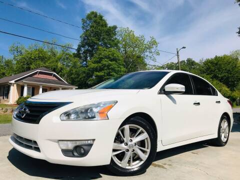 2013 Nissan Altima for sale at E-Z Auto Finance in Marietta GA