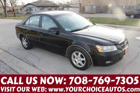 2006 Hyundai Sonata for sale at Your Choice Autos in Posen IL