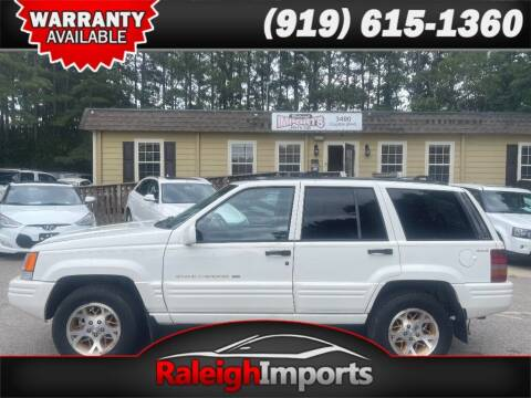 1996 Jeep Grand Cherokee for sale at Raleigh Imports in Raleigh NC