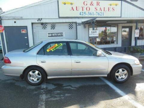 1998 Honda Accord for sale at G&R Auto Sales in Lynnwood WA