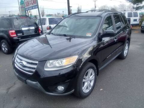 2012 Hyundai Santa Fe for sale at Wilson Investments LLC in Ewing NJ
