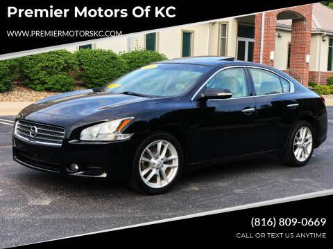 2011 Nissan Maxima for sale at Premier Motors of KC in Kansas City MO