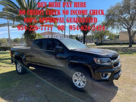2016 Chevrolet Colorado for sale at Transcontinental Car USA Corp in Fort Lauderdale FL