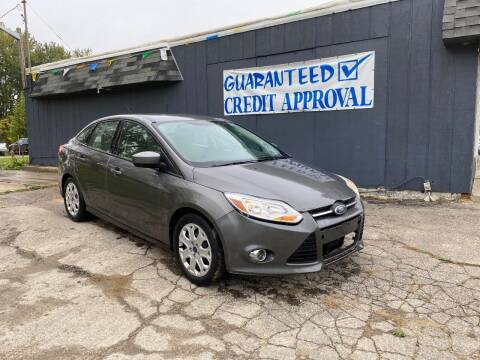 2012 Ford Focus for sale at Heely's Autos in Lexington MI