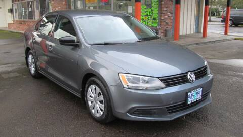 2013 Volkswagen Jetta for sale at D & M Auto Sales in Corvallis OR