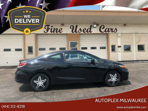 2014 Honda Civic for sale at Autoplex 2 in Milwaukee WI