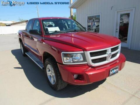 2010 Dodge Dakota for sale at TWIN RIVERS CHRYSLER JEEP DODGE RAM in Beatrice NE