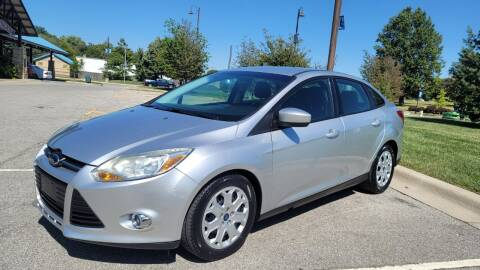2012 Ford Focus for sale at Nationwide Auto in Merriam KS