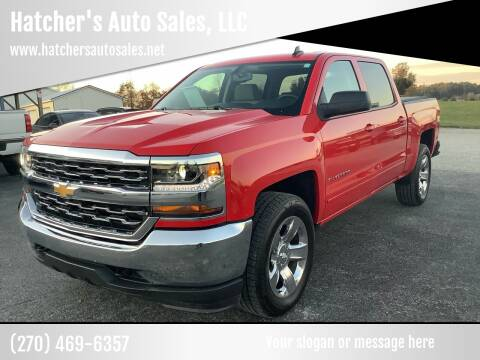 2017 Chevrolet Silverado 1500 for sale at Hatcher's Auto Sales, LLC in Campbellsville KY