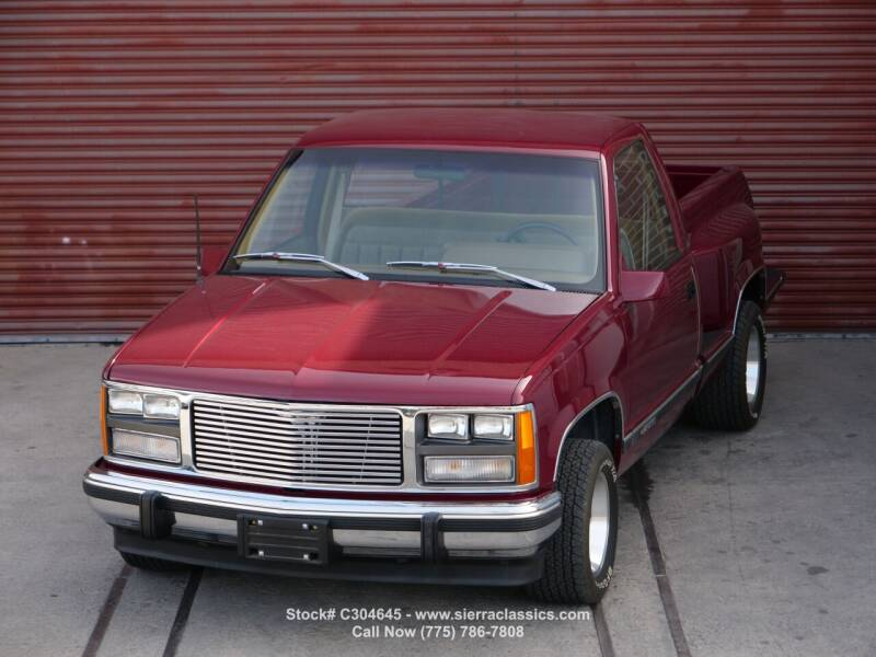 1988 Chevrolet C/K 1500 Series for sale at Sierra Classics & Imports in Reno NV
