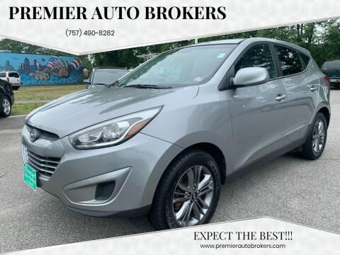2015 Hyundai Tucson for sale at Premier Auto Brokers in Virginia Beach VA