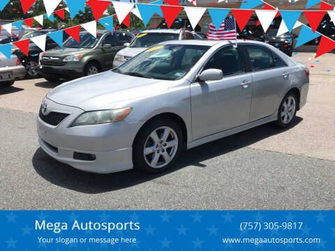 2007 Toyota Camry for sale at Mega Autosports in Chesapeake VA