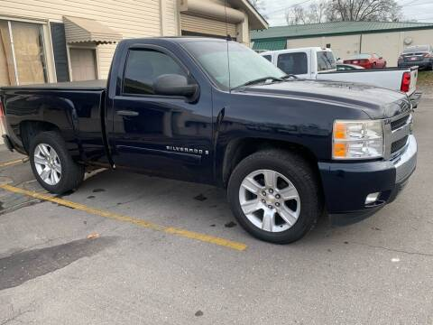 2007 Chevrolet Silverado 1500 for sale at MOUNTAIN CITY MOTORS INC in Dalton GA