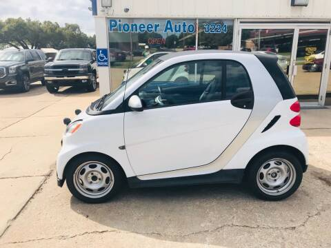 2015 Smart fortwo for sale at Pioneer Auto in Ponca City OK