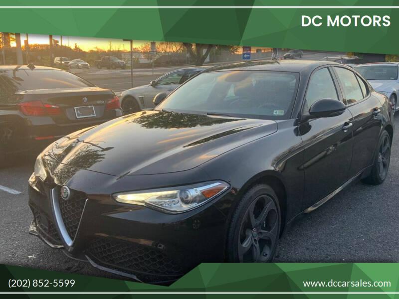 2017 Alfa Romeo Giulia for sale at DC Motors in Springfield VA