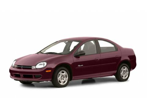 2001 Plymouth Neon for sale at Sundance Chevrolet in Grand Ledge MI