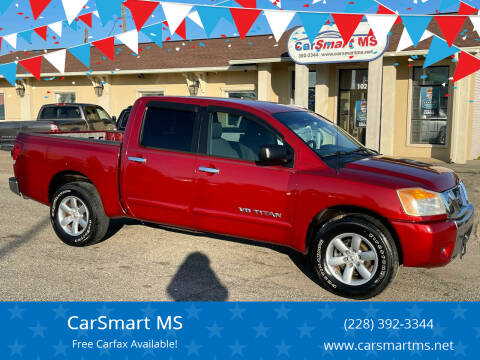 2008 Nissan Titan for sale at CarSmart MS in Diberville MS