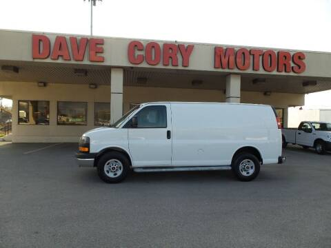 2015 GMC Savana Cargo for sale at DAVE CORY MOTORS in Houston TX