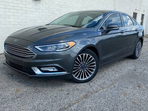 2017 Ford Fusion for sale at Samuel's Auto Sales in Indianapolis IN
