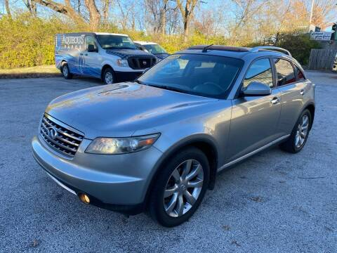 2006 Infiniti FX35 for sale at ASHLAND AUTO SALES in Columbia MO