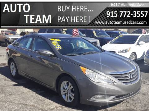 2013 Hyundai Sonata for sale at AUTO TEAM in El Paso TX