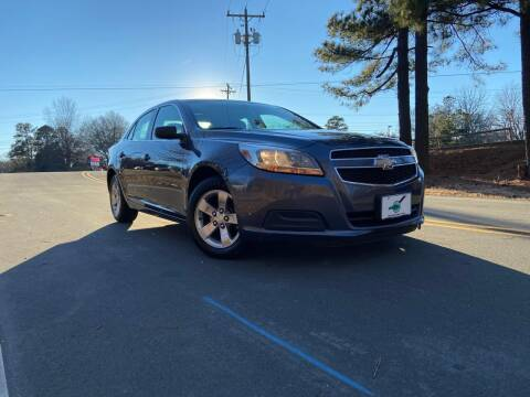 2013 Chevrolet Malibu for sale at THE AUTO FINDERS in Durham NC