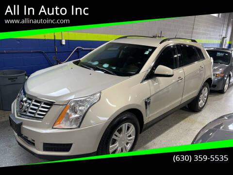 2013 Cadillac SRX for sale at All In Auto Inc in Addison IL