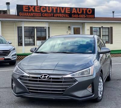 2019 Hyundai Elantra for sale at Executive Auto in Winchester VA