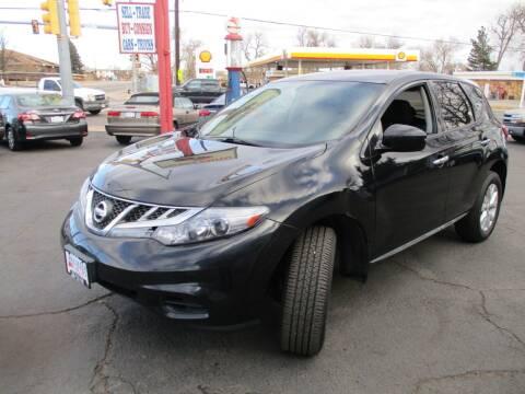 2011 Nissan Murano for sale at Premier Auto in Wheat Ridge CO