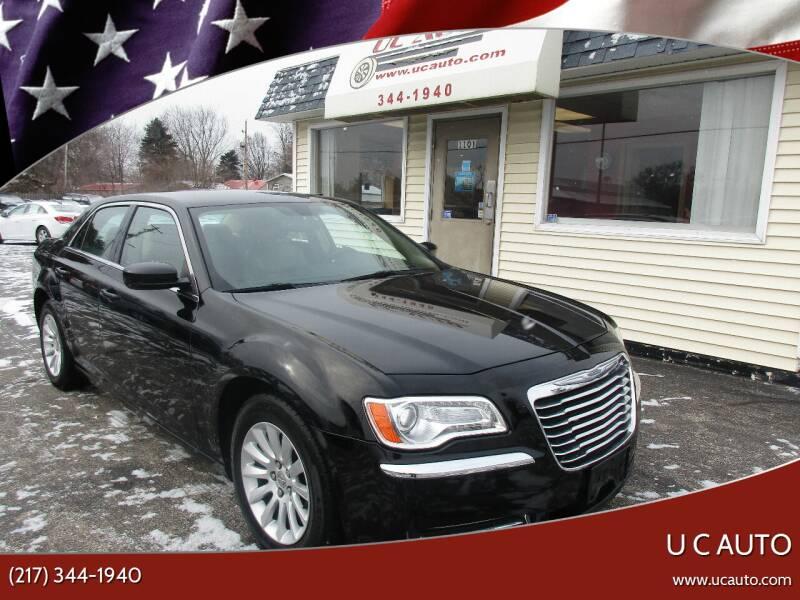 2014 Chrysler 300 for sale at U C AUTO in Urbana IL