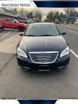 2012 Chrysler 200 for sale at Manchester Motors in Manchester CT