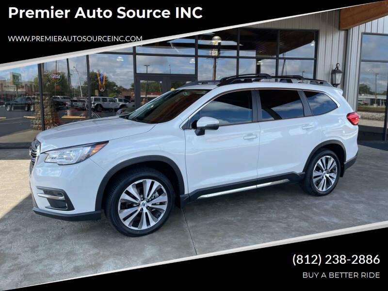 2021 Subaru Ascent for sale at Premier Auto Source INC in Terre Haute IN