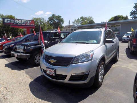 2015 Chevrolet Traverse for sale at Comet Auto Sales in Manchester NH