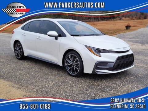 2020 Toyota Corolla for sale at Parker's Used Cars in Blenheim SC