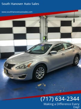 2015 Nissan Altima for sale at South Hanover Auto Sales in Hanover PA