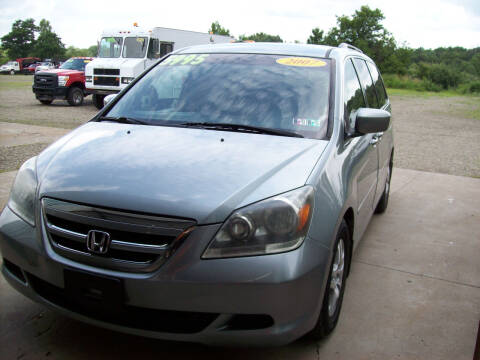 2007 Honda Odyssey for sale at Summit Auto Inc in Waterford PA