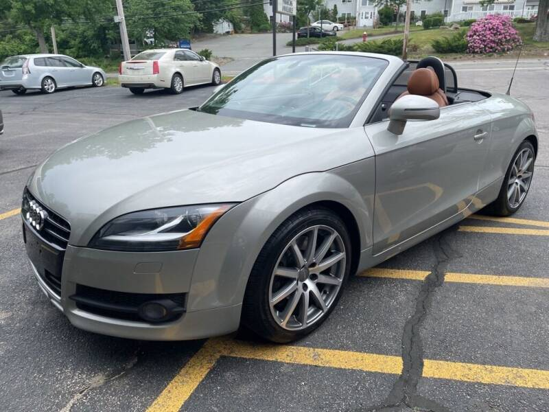 2008 Audi TT for sale at Premier Automart in Milford MA
