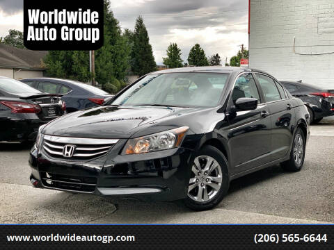 2011 Honda Accord for sale at Worldwide Auto Group in Auburn WA