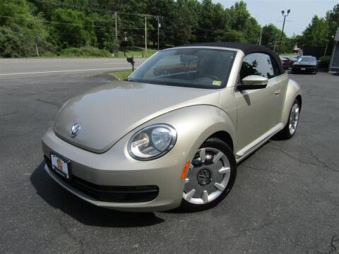 2013 Volkswagen Beetle Convertible for sale at Guarantee Automaxx in Stafford VA