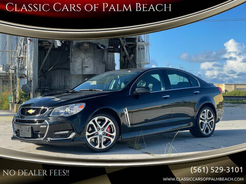 2017 Chevrolet SS for sale at Classic Cars of Palm Beach in Jupiter FL